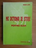 Marin Lupu - Mic dictionar de istorie pentru elevi