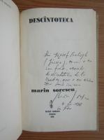 Anticariat: Marin Sorescu - Descantoteca (cu autograful autorului)