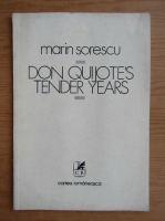 Anticariat: Marin Sorescu - Don Quijote's tender years