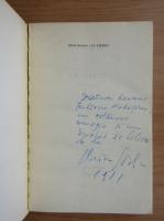 Anticariat: Marin Sorescu - La lilieci (cu autograful si dedicatia autorului)
