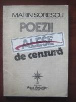 Marin Sorescu - Poezii alese de cenzura