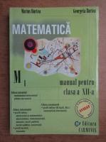 Anticariat: Marius Burtea, Georgeta Burtea - Matematica, M1. Manual pentru clasa a XII-a (2002)