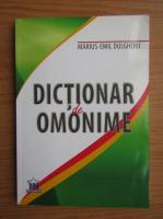 Marius-Emil Dulgheru - Dictionar de omonime