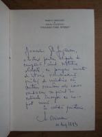 Marius Oniceanu - Coloana fara sfarsit (cu autograful autorului)