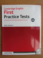 Mark Harrison - First practice tests