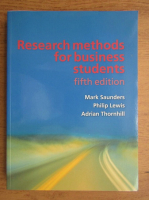 Mark Saunders, Philip Lewis - Research methods for business students