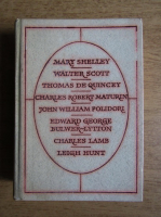 Anticariat: Mary Shelley, Walter Scott, Thomas de Quincey, Charles Robert Maturin