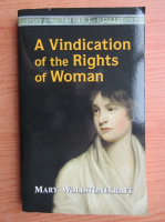 Anticariat: Mary Wollstonecraft - A vindication of the rights of woman