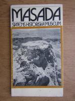 Anticariat: Masada. Statens historiska museum