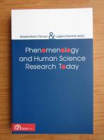 Anticariat: Massimiliano Tarozzi, Luigina Mortari - Phenomenology and human science research today