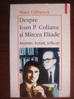 Anticariat: Matei Calinescu - Despre Ioan P. Culianu si Mircea Eliade