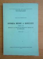 Matei D. Vlad - Istoria medie a Romaniei (volumul 2)