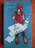 Maureen Johnson - 13 plicuri albastre