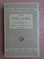 Anticariat: Maurice Bardon - Lesage theatre (1945)