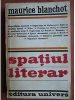 Maurice Blanchot - Spatiul literar