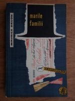 Anticariat: Maurice Druon - Marile familii