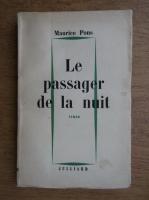 Anticariat: Maurice Pons - Le passager de la nuit