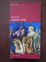 Anticariat: Max Dvorak - Scrieri despre arta