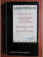 Anticariat: Max Frisch - Teatru