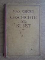 Anticariat: Max Osborn - Geschichte der kunst (1924)