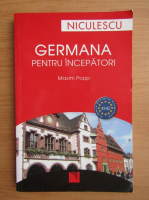 Anticariat: Maxim Popp - Germana pentru incepatori
