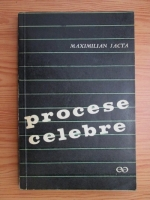 Maximilian Jacta - Procese celebre