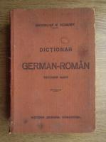 Maximilian W. Schroff - Dictionar german-roman (1916)