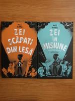 Anticariat: Maz Evans - Zei scapati din lesa (2 volume)