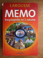 Memo. Encyclopedie en 1 volume