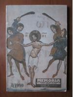 Anticariat: Memoria. Revista gandirii arestate (nr. 1)