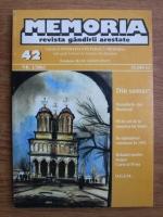 Anticariat: Memoria. Revista gandirii arestate (nr. 42)