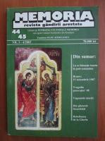 Anticariat: Memoria. Revista gandirii arestate (nr. 44-45)