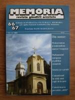 Anticariat: Memoria. Revista gandirii arestate (nr. 66, 67)