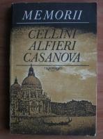 Anticariat: Memorii (Cellini, Alfieri, Casanova)