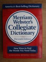 Merriam-Webster's collegiate dictionary (contine CD)