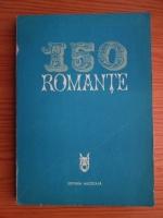 Mia Barbu - 150 romante (contine partituri)