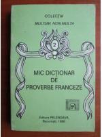 Mic dictionar de proverbe franceze