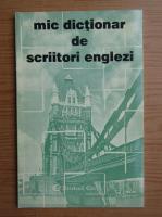 Mic dictionar de scriitori englezi