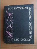 Anticariat: Mic dictionar filozofic
