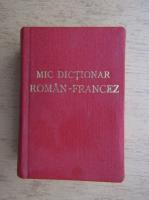 Anticariat: Mic dictionar roman-francez