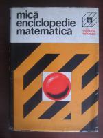 Mica enciclopedie matematica