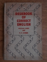 Anticariat: Michael A. West - Deskbook of correct english