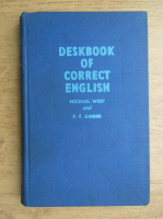 Michael A. West - Deskbook of correct english