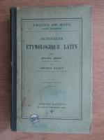 Anticariat: Michel Breal - Lecons de mots. Dictionnaire etymologique latin (1906)