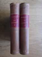 Michel Cervantes - L'admirable Don Quichotte de la Manche (2 volume, 1900)