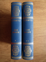 Anticariat: Miguel de Cervantes - Iscusitul Hidalgo Don Quijote de la Mancha (4 volume coligate)