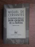 Miguel de Cervantes Saavedra - El ingenioso Hidalgo Don Quijote de la Mancha