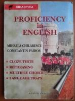 Mihaela Chilarescu - Proficiency in English