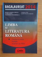 Anticariat: Mihaela Daniela Cirstea - Bacalaureat 2014. Limba si literatura romana