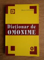Mihaela Gaitanaru - Dictionar de omonime